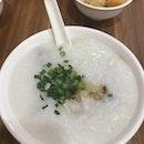 Meatball & Fresh Pig Liver Porridge