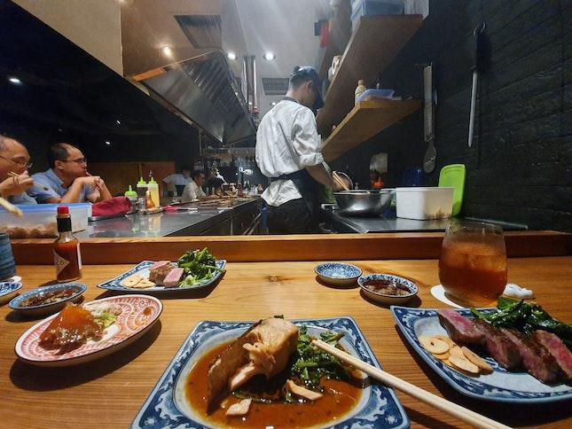 Teppenyaki Omakase With Wagyu