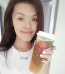 Weather too hot so fruit tea is my best friend nowadays.