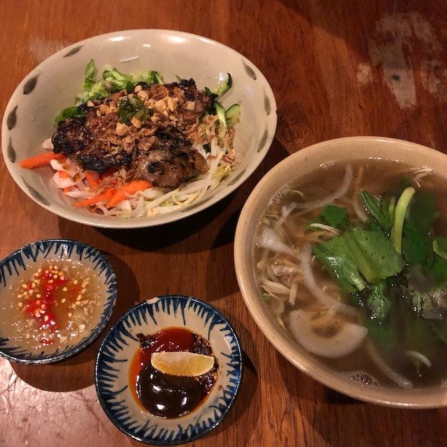 Burrple Beyond: Bun Thit Nuong, Pho Ga