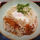 Garlic Chicken Maze Udon ($9.50++)