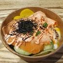 Smoked Salmon Mentaiko with fish roe ($10.90)