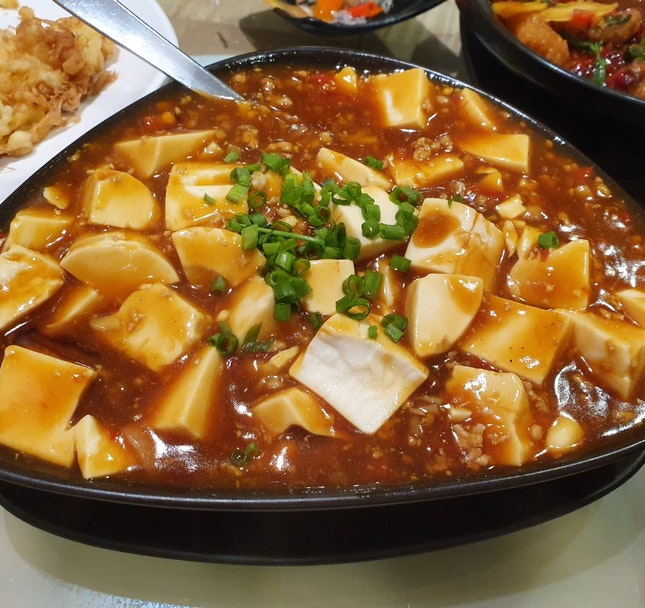 Chili Ma Po Tofu ($20 for Large)