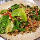Basil Chicken with Kai Lan ($8++)