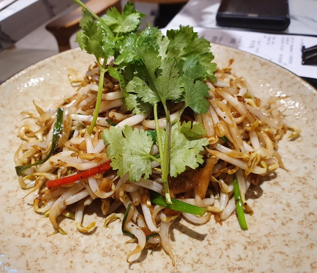 Bean Sprouts with Salted Fish ($8)