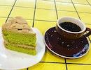 Gula Melaka Pandan cake with coffee @cedelesingapore The cake is fluffy and not too sweet 😋 #sgdessert #dessert #sgcakes #cake #cakes #coffee #coffeelover #coffeeholic #cuppa #brew #food #sgfood #sgfoodie #foodiesg #burpple #yummylicious #yummy #instafood #instafood_sg #foodie #foodstagram #EatMoreSG #lilmakaninSG #SgEats #Shareallyourfood