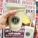 Sweet potato milkshake from @donkisg I saw them preparing it and they do use one whole baked potato 😁 #food #sgfood #sgfoodie #foodiesg #burpple #yummylicious #yummy #instafood #instafood_sg #foodie #foodstagram #EatMoreSG #topcitybites #lilmakaninSG #SgEats #Shareallyourfood #whati8today #milkshake