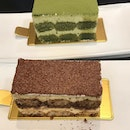 We loved the tiramisu #cakes available at @lateliertiramisu @clarkequaycentral Our orders of the matcha and classic tiramisu were excellent 😋 .