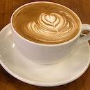 Latte at @coffeesmith_singapore @westgatesg A Korean cafe that's open 24/7!