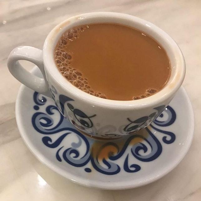 #yumcha and fellowship over a good cup of milk tea @tsuiwahsingapore @clarkequaysg .