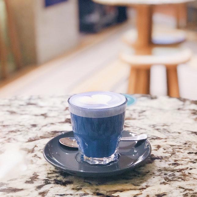 Blue Bell Latte
