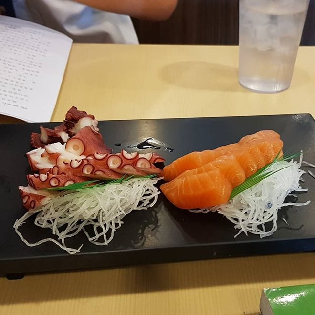 One of the best value for money sashimi in Singapore.