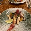 Carabineros & Squid Paella