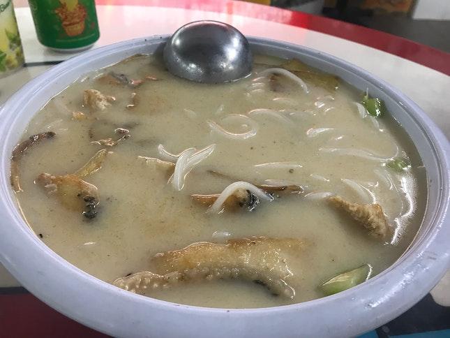 Fish Head Soup Noodle W XO