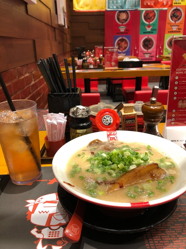 Good Bowl Of Ramen Noodles @ Ramen Nagi For Just $13.90, why not!