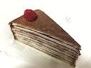 Raspberry Chocolate Crepe