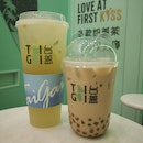 Kumguat Lemon Tea And Oolong Milk Tea