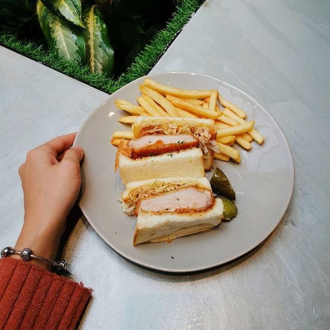 Pork Tonkutsu Sandwich