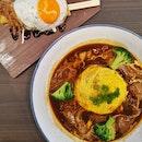 Beef Stew Omelette