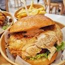 Zoey's Chicken Burger