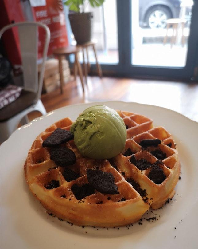 Waffles & Ice-cream