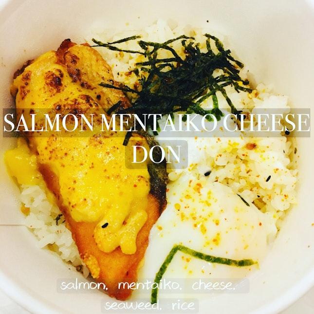 Salmon Mentaiko Cheese Don