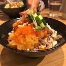 Sashimi Rice Bowl ($19)