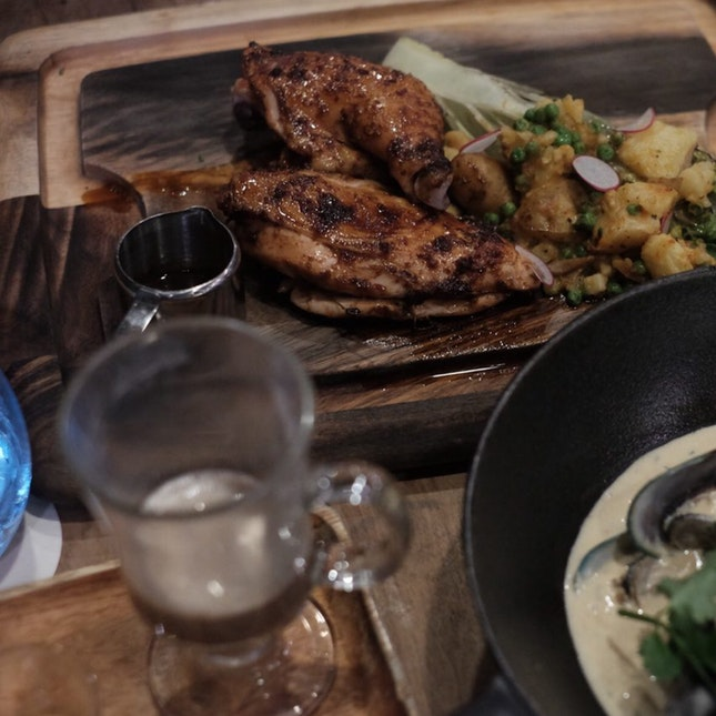 Slow Cooked Half-spring Chicken $30++