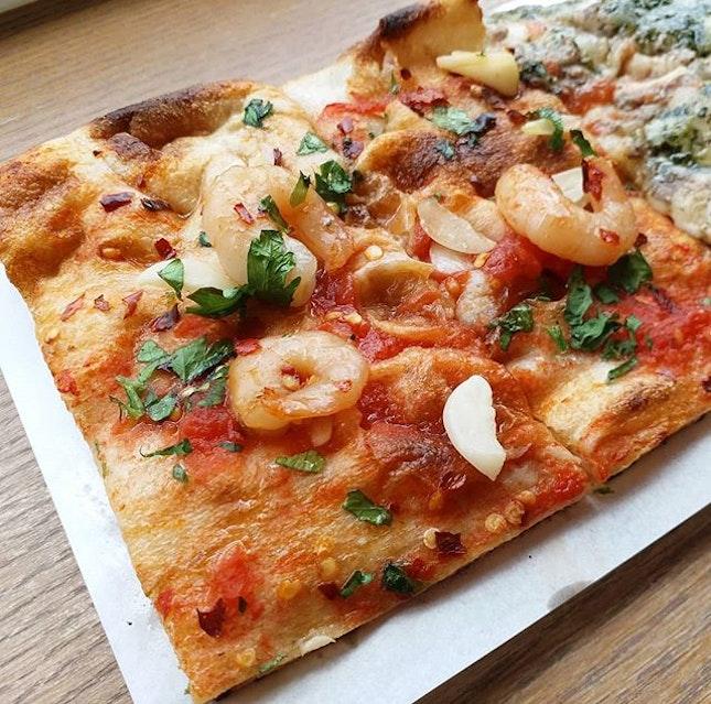 Siciliano pizza from O Mamma Mia!