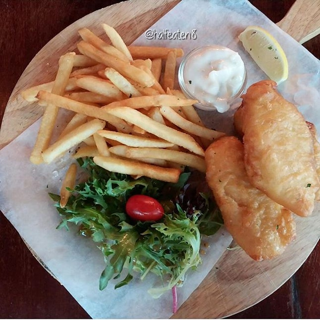 London Fish & Chips from Ice Edge Cafe!