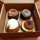Cupcakes from Plain Vanilla Bakery!