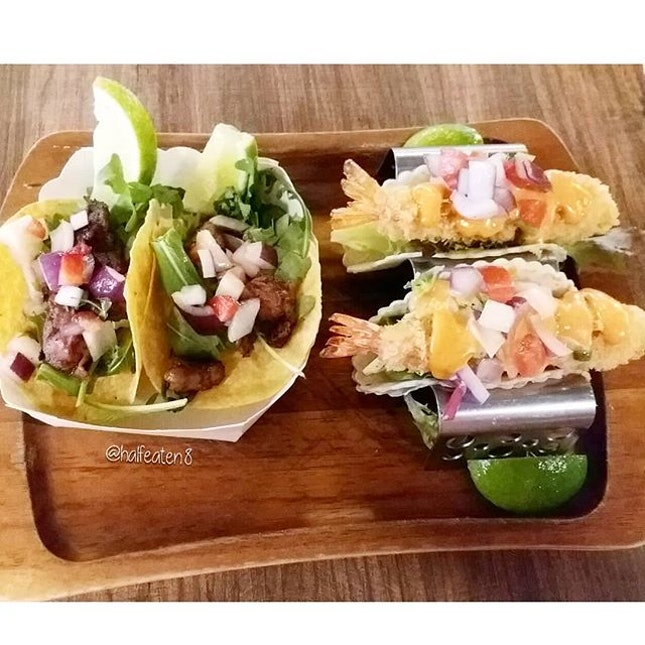 Tacos from Moustachio!