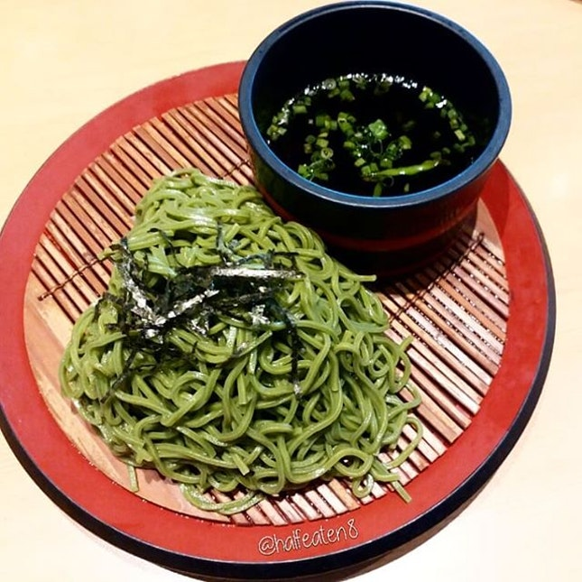 Cha Soba from Sushi Tei!