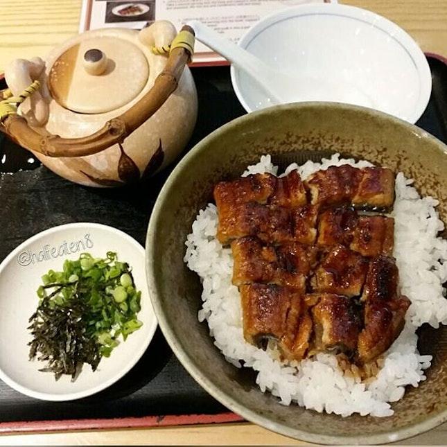 Unagi Hitsumabushi from Sushi Tei!