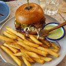 Buttermilk Chicken Burger from Chico Loco!