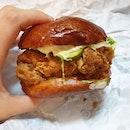 Buttermilk Chicken Burger from Meatsmith!
