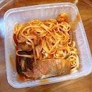 Linguine al Cartoccio from Pietro Italian Restaurant!
