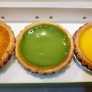 Pandan Egg Tart from Tai Cheong!