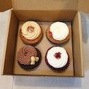 Cupcakes from Plain Vanilla!
