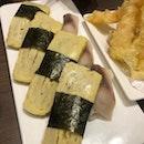 Tamago/Mackerel Sushi