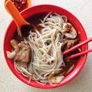 Prawn & Pork Rib Noodles