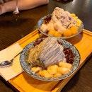 Houjicha + Black Sesame Shaved Ice [$6.90 ea]