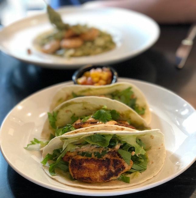 Fish Taco ($18)