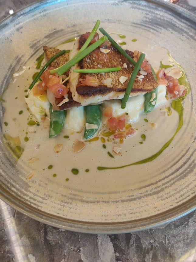 Pan Fried Red Snapper (Burpple Set Part2)
