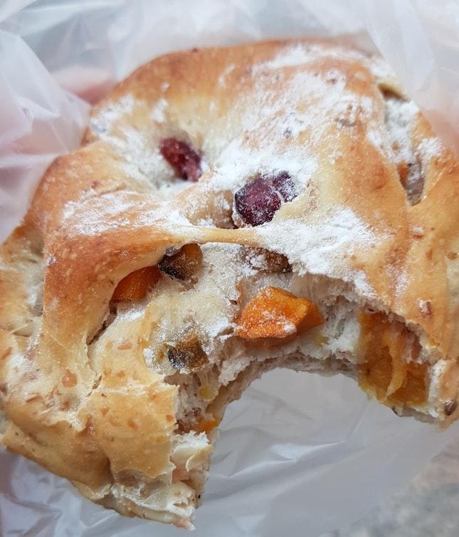 Pumpkin Cranberry Multigrain Bread