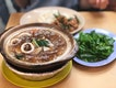 Claypot Ee Mian And Salted Egg Pork Rib Rice