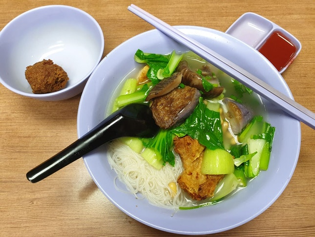 Affordable and Delicious Yong Tau Foo in Orchard