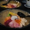 Chirashi Don, Soft Shell Crab Maki & Chawanmushi
