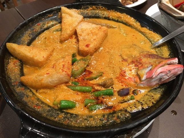 Curry Fish Head 👍🏻👍🏻👍🏻👍🏻 $20++