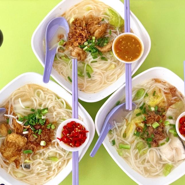 Fish Noodle Soup ($5)